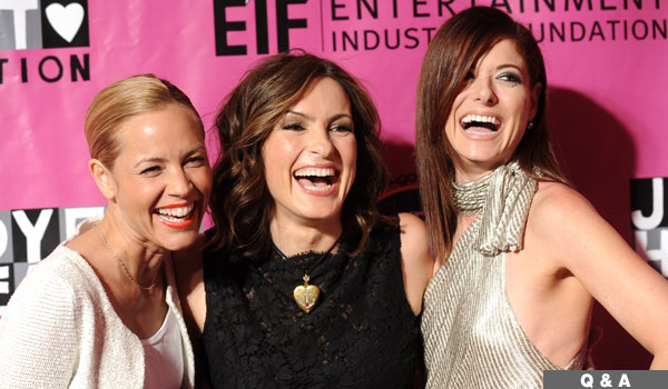 Maria Bello, Mariska Hargitay and Debra Messing