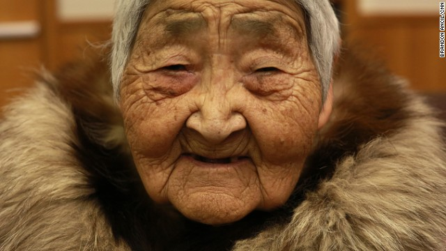 Elsie Nanugaq Tommy, 104, started a secret women's shelter decades ago out of her home in Newtok, Alaska.